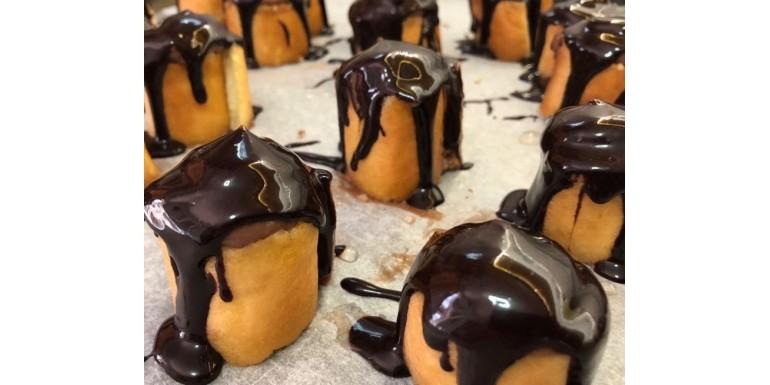 Piononos de chocolate